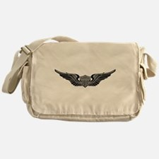 Aviator B-W Messenger Bag