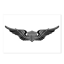 Aviator B-W Postcards (Package of 8)