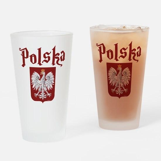 Polska Drinking Glass