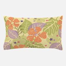 Flower Tropical Yellow Pillow Case