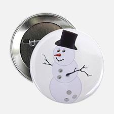 "Bowling Ball Snowman 2.25"" Button (10 pack)"