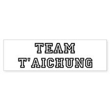 Team T'aichung Bumper Car Sticker