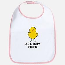 Actuary Chick Bib