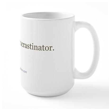 Structured Procrastination Large Mug