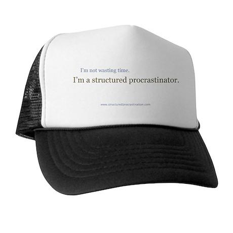 Structured Procrastination Trucker Hat
