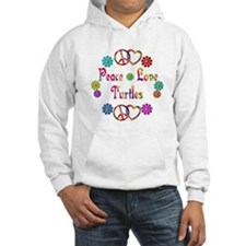 Peace Love Turtles Jumper Hoody