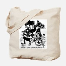 Parking Is Always Such a Problem Tote Bag