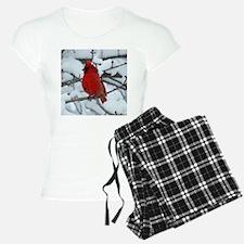 Snow Cardinal Pajamas
