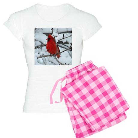 Snow Cardinal Women's Light Pajamas