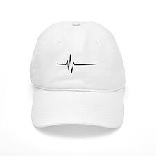 Frequency Pulse Heartbeat Baseball Cap