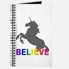 Believe in Unicorns Journal