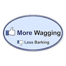 I Like Wagging! - Bumper Stickers
