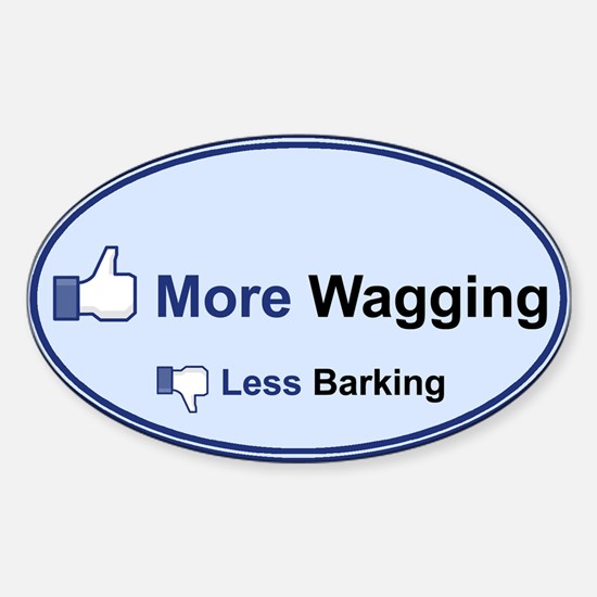 I Like Wagging! - Bumper Stickers