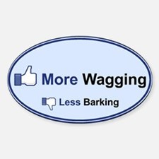 I Like Wagging! - Decal