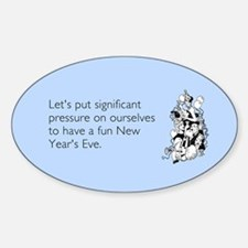 New Year's Pressure Decal