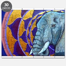 Elephant Mandala Puzzle