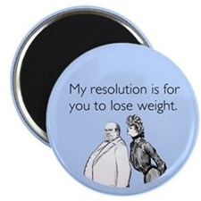 Weight Loss Resolution Magnet