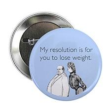 "Weight Loss Resolution 2.25"" Button"