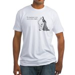 Weight Loss Resolution Fitted T-Shirt