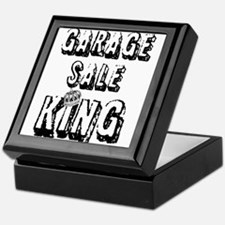 Garage Sale King Keepsake Box
