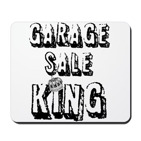 Garage Sale King Mousepad