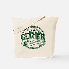 Glacier Old Circle Tote Bag
