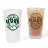 Glacier national park Pint Glasses