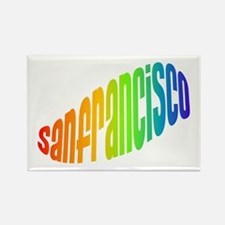SF HIPPIE Rectangle Magnet