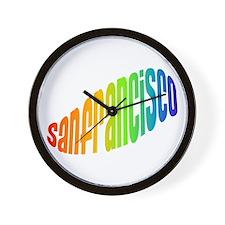 SF HIPPIE Wall Clock