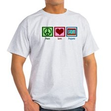 Peace Love Puppets T-Shirt