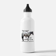 Trail Ride App Water Bottle