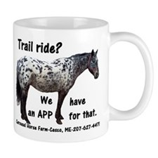 Trail Ride App Mug