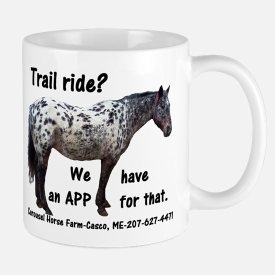 Trail Ride App Mug