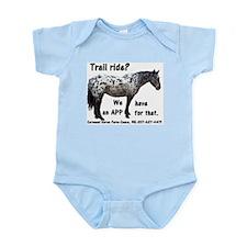 Trail Ride App Infant Bodysuit