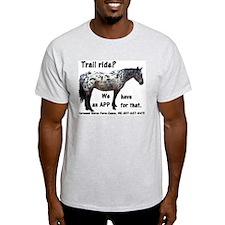 Trail Ride App T-Shirt