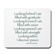 Looking Within Mousepad