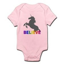 Believe in Unicorns Infant Bodysuit