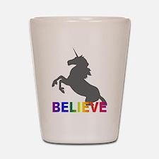 Believe in Unicorns Shot Glass