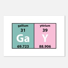 Chemistry Gay Postcards (Package of 8)