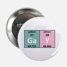 """Chemistry Gay 2.25"""" Button (10 pack)"""