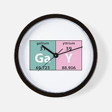 Chemistry Gay Wall Clock