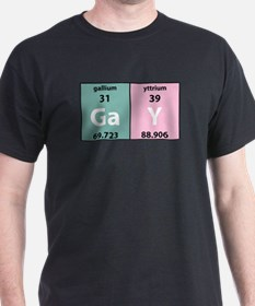 Chemistry Gay Black T-Shirt