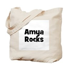Amya Rocks Tote Bag