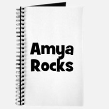 Amya Rocks Journal