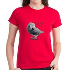 African Grey Parrot Holiday Tee