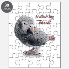 African Grey Parrot Holiday Puzzle