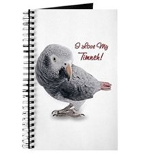 African Grey Parrot Holiday Journal