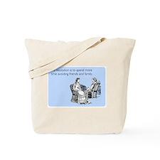 Avoiding Friends & Family Tote Bag
