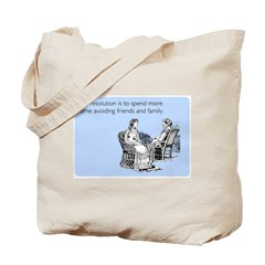Avoiding Friends & Family Tote Bag