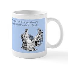 Avoiding Friends & Family Mug